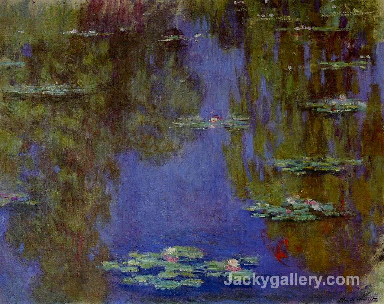 Water Lilies by Claude Monet paintings reproduction