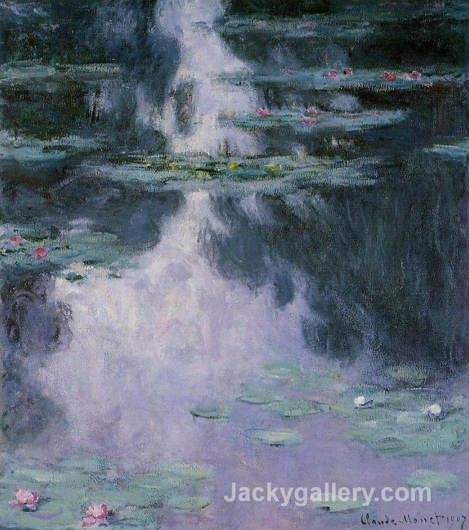 Water Lilies (Nympheas) by Claude Monet paintings reproduction