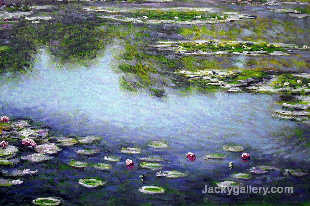 Water Lilies II by Claude Monet paintings reproduction