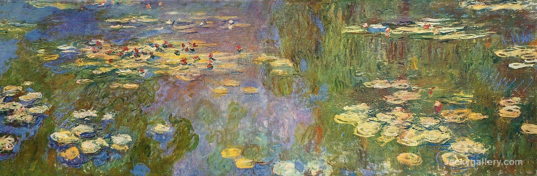 Water Lilies VII by Claude Monet paintings reproduction