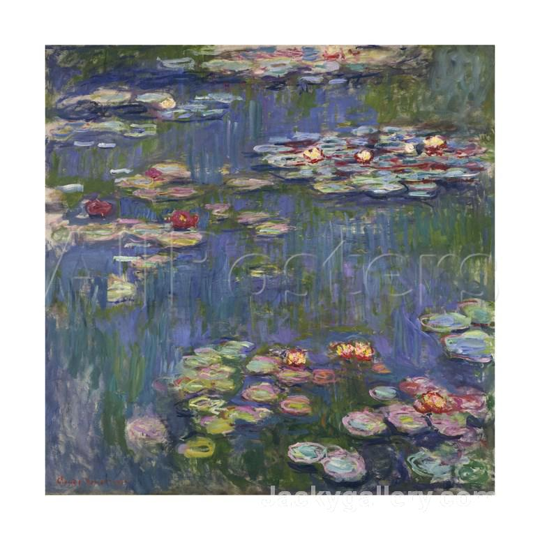 Water Lilies c. by Claude Monet paintings reproduction