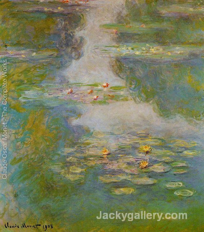 Water-Lilies by Claude Monet paintings reproduction
