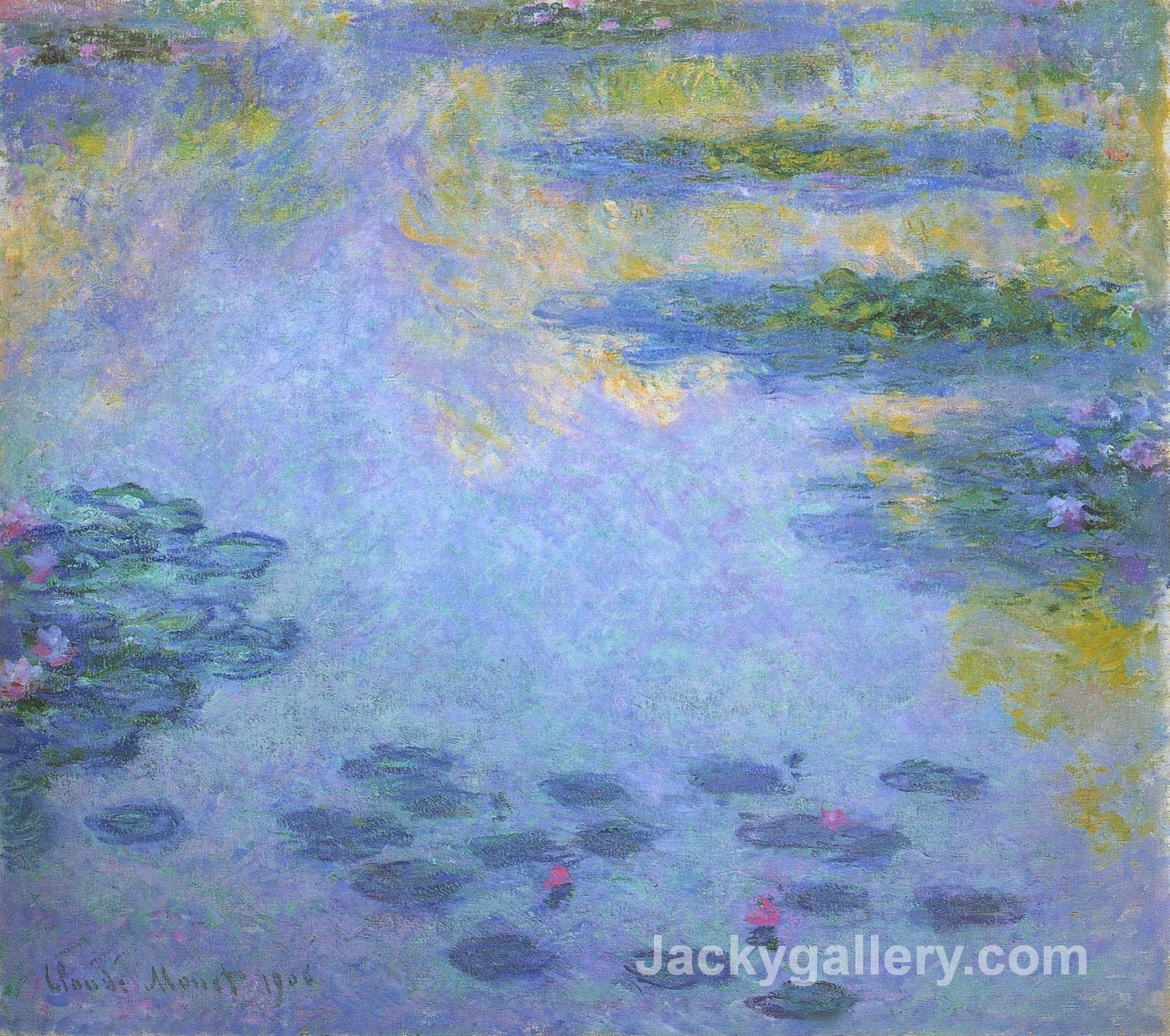 WaterLilies by Claude Monet paintings reproduction