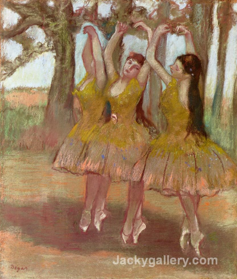 A Grecian Dance by Edgar Degas paintings reproduction
