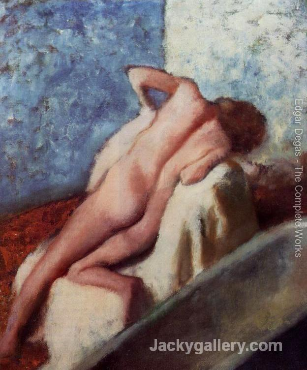 After the Bath 2 by Edgar Degas paintings reproduction