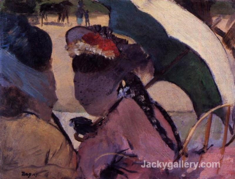 At the Races by Edgar Degas paintings reproduction