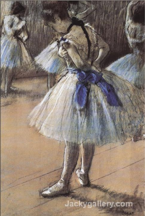 Ballerina by Edgar Degas paintings reproduction