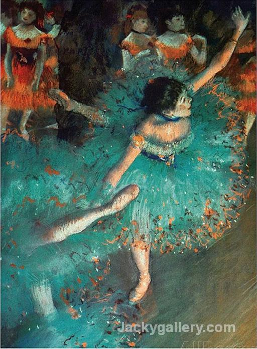 Dancer by Edgar Degas paintings reproduction