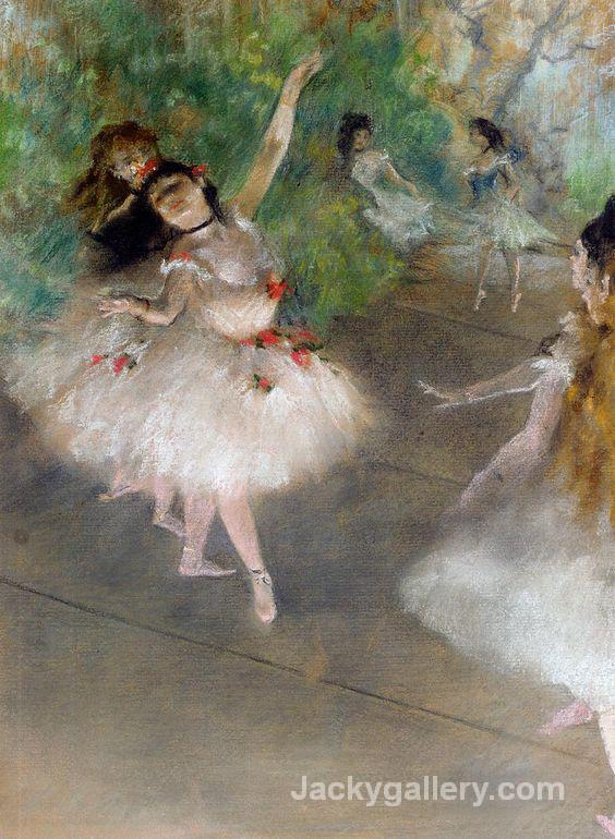 Dancers, c. by Edgar Degas paintings reproduction
