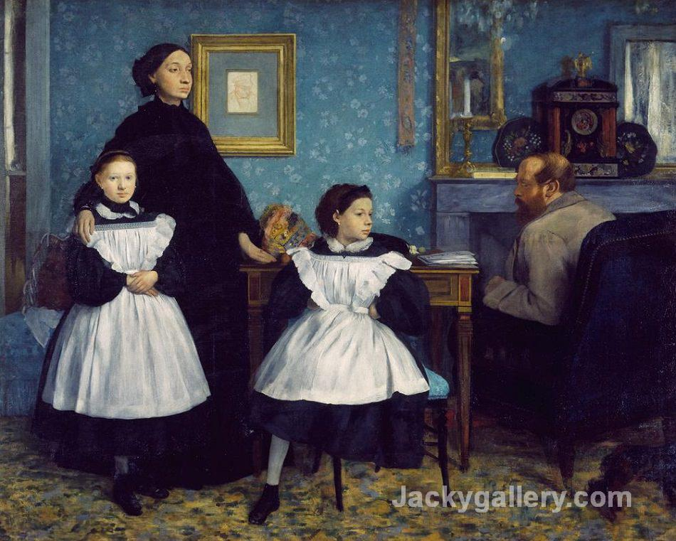 The Bellelli Family-67 by Edgar Degas paintings reproduction