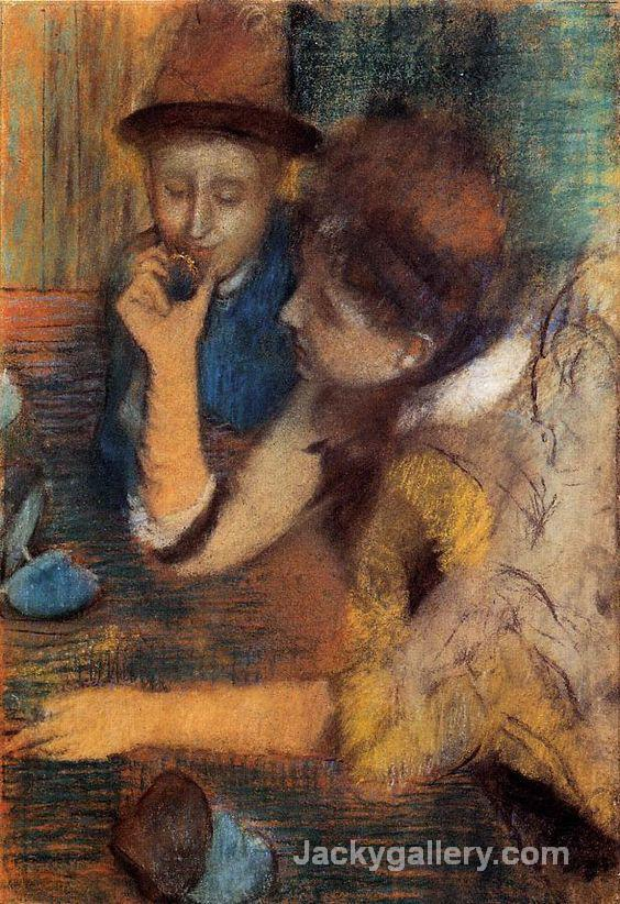 The Jewels by Edgar Degas paintings reproduction