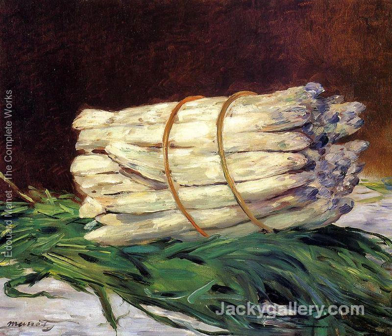 A Bunch Of Asparagus by Edouard Manet paintings reproduction