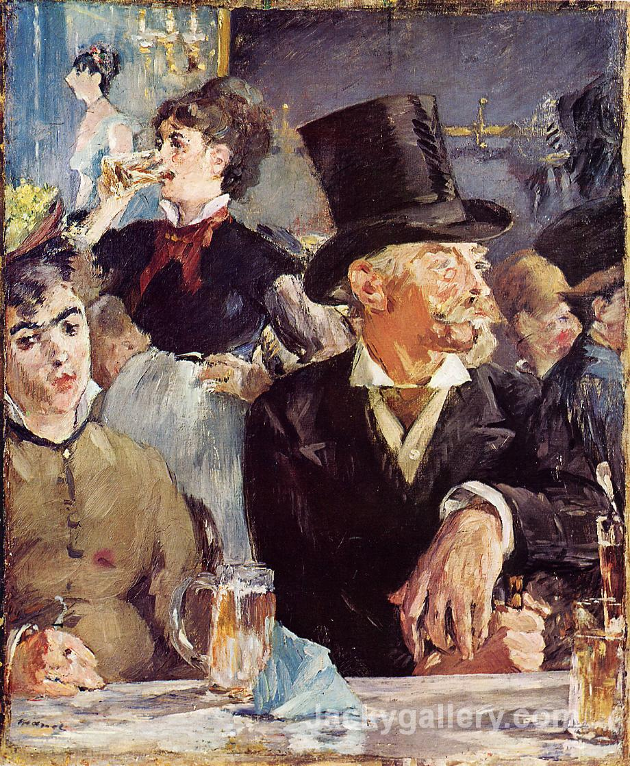 At the Cafe-Concert by Edouard Manet paintings reproduction