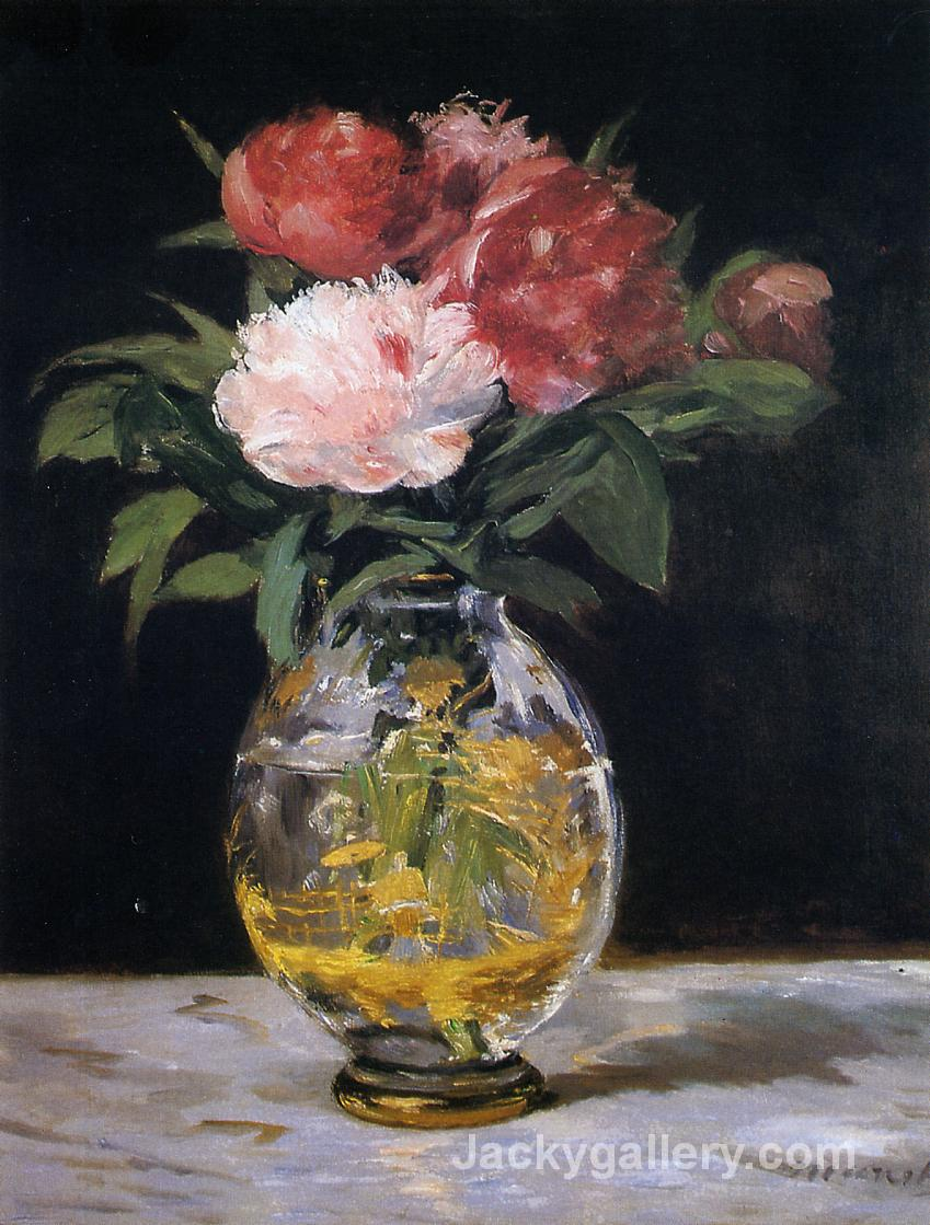 Bouquet of flowers by Edouard Manet paintings reproduction