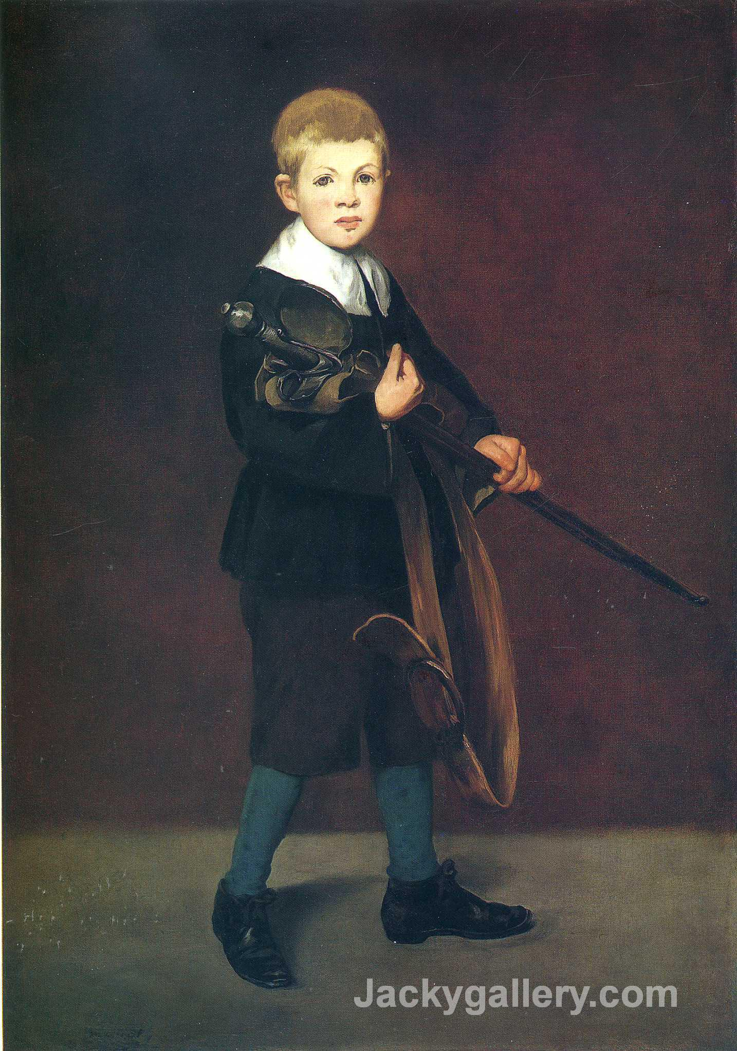 Boy with a Sword by Edouard Manet paintings reproduction