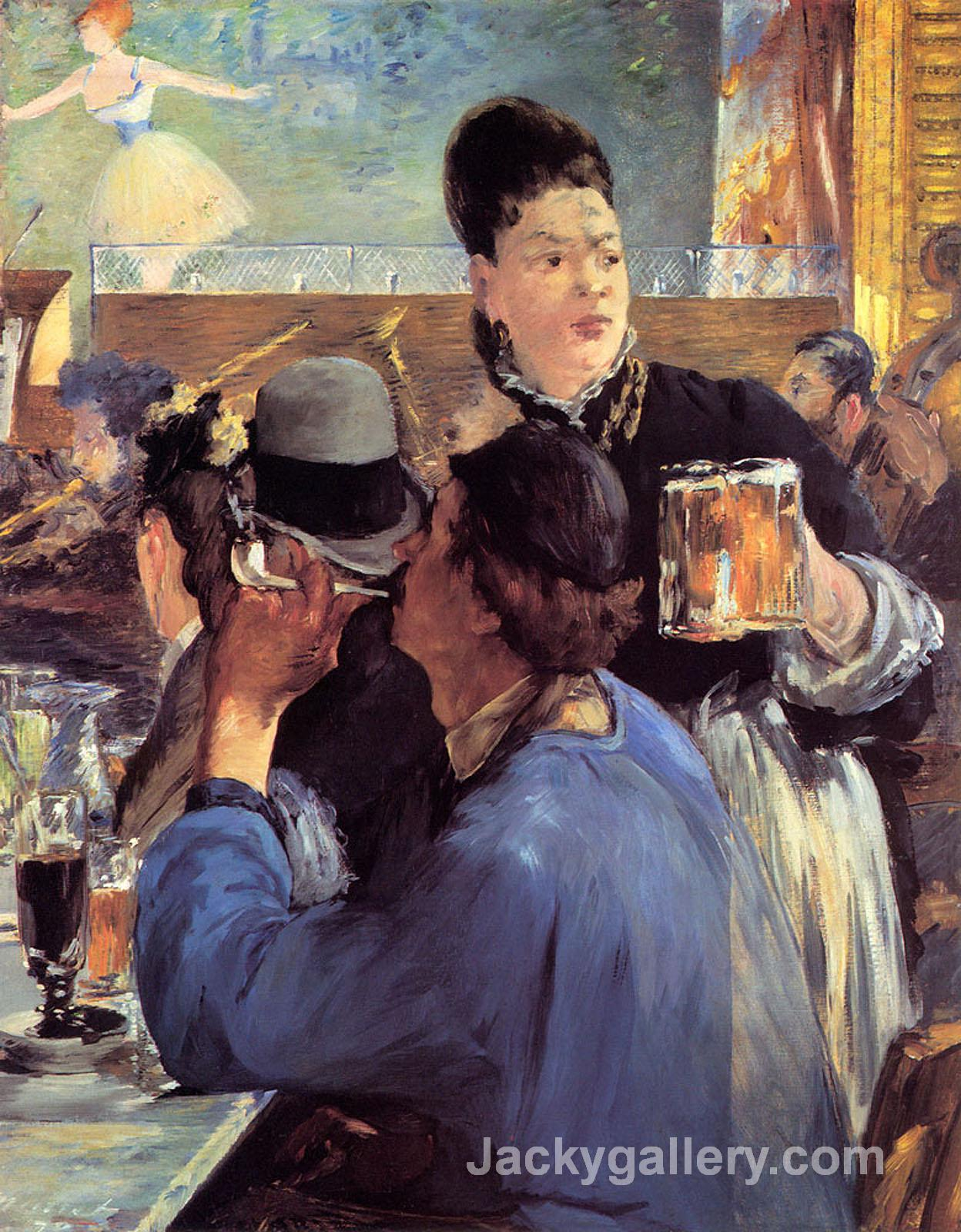 Corner of a Cafe-Concert by Edouard Manet paintings reproduction