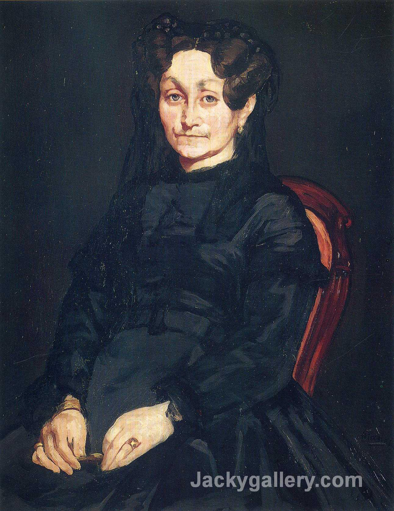 Madame Auguste Manet by Edouard Manet paintings reproduction