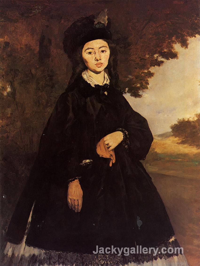 Madame Brunet by Edouard Manet paintings reproduction