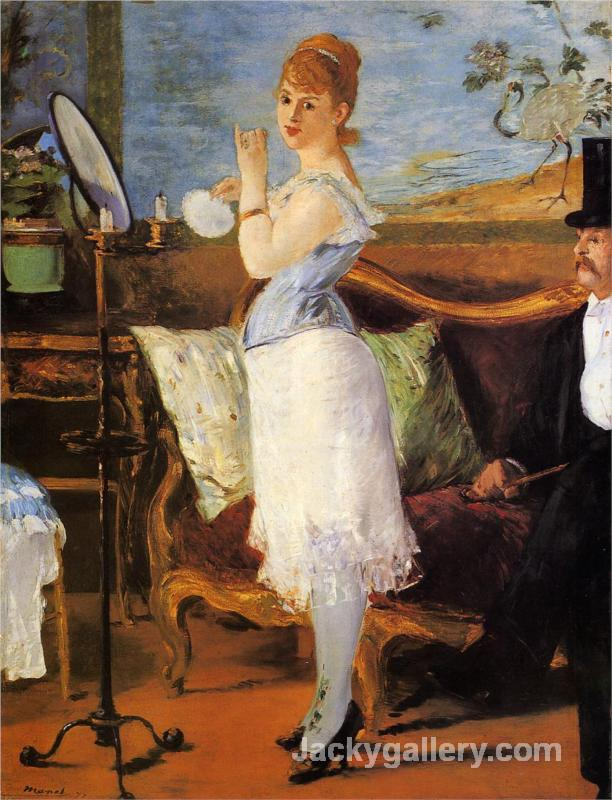 Nana by Edouard Manet paintings reproduction