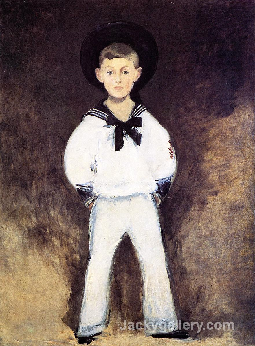 Portrait of Henry Bernstein as a Child by Edouard Manet paintings reproduction