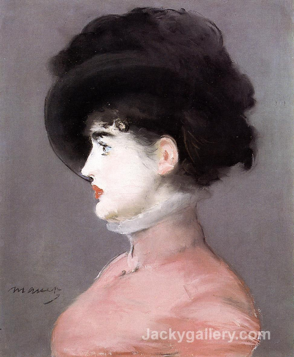 Portrait of Irma Brunner by Edouard Manet paintings reproduction