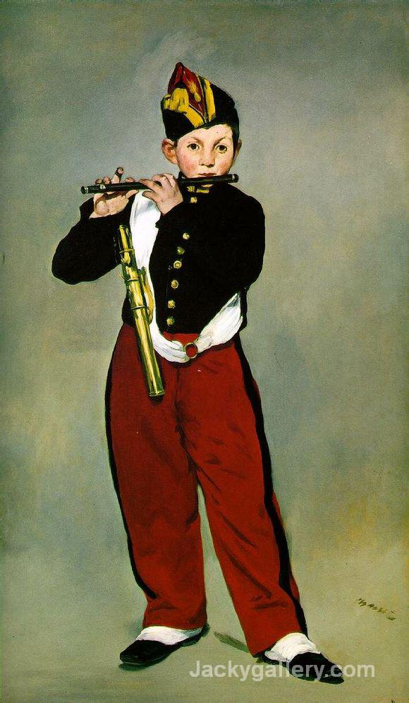 The Fifer by Edouard Manet paintings reproduction