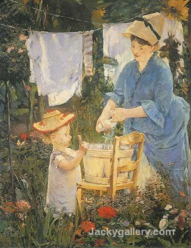 The laundry by Edouard Manet paintings reproduction