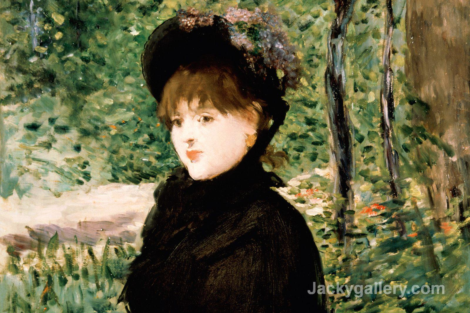 The stroll by Edouard Manet paintings reproduction