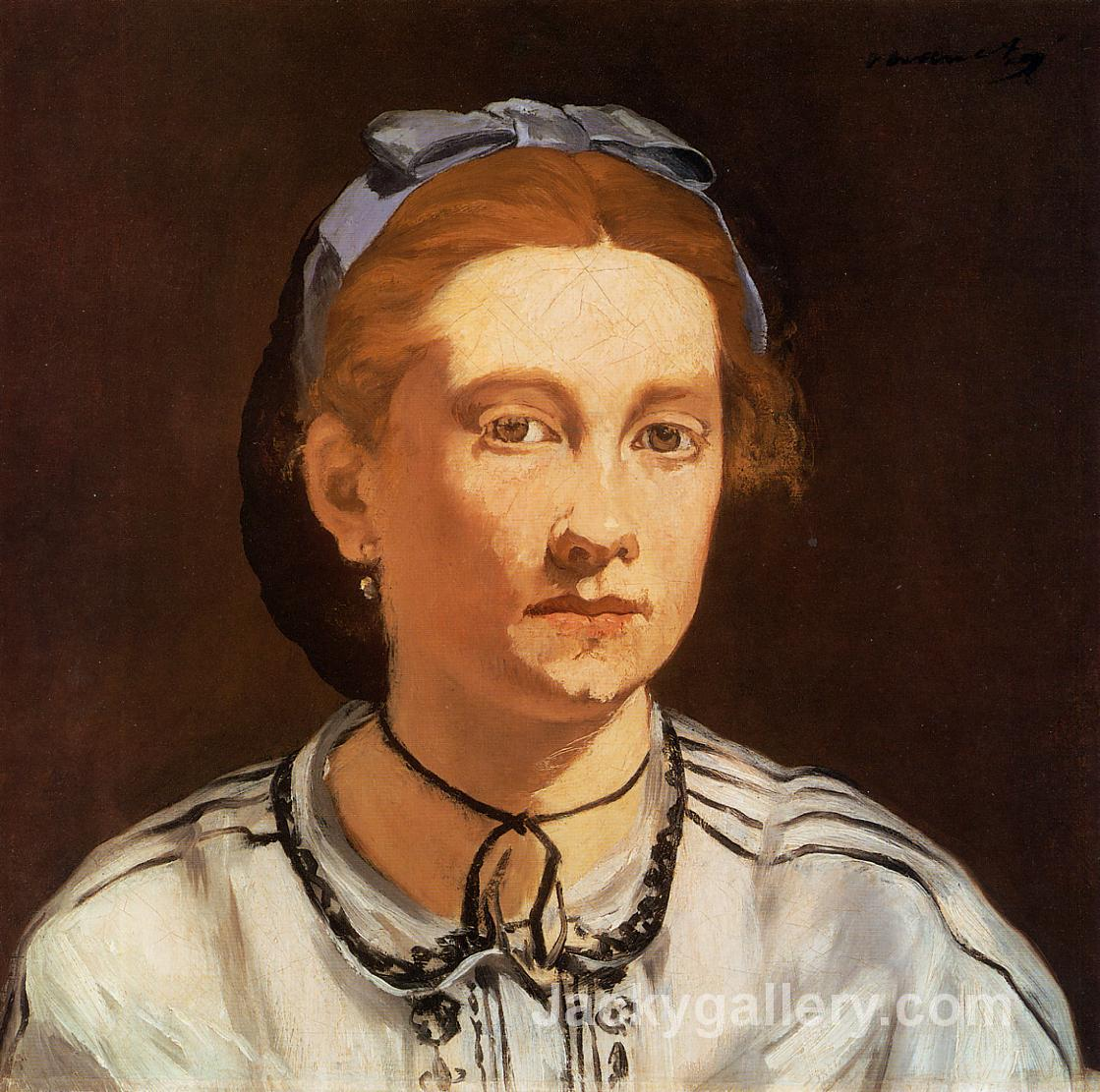 Victorine Meurent by Edouard Manet paintings reproduction
