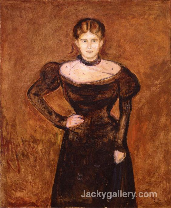 Aase Noorregaard , by Edvard Munch paintings reproduction