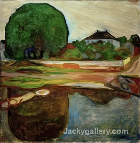 Aasgaardstrand by Edvard Munch paintings reproduction