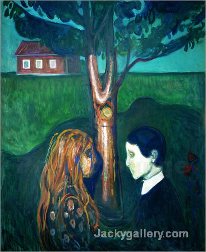 Aug in Aug . by Edvard Munch paintings reproduction