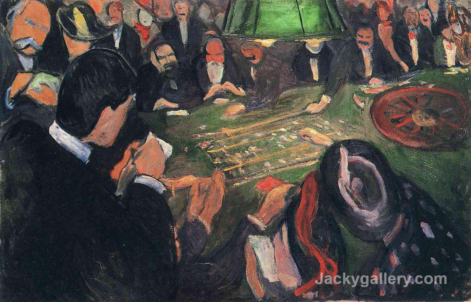 By the Roulette by Edvard Munch paintings reproduction