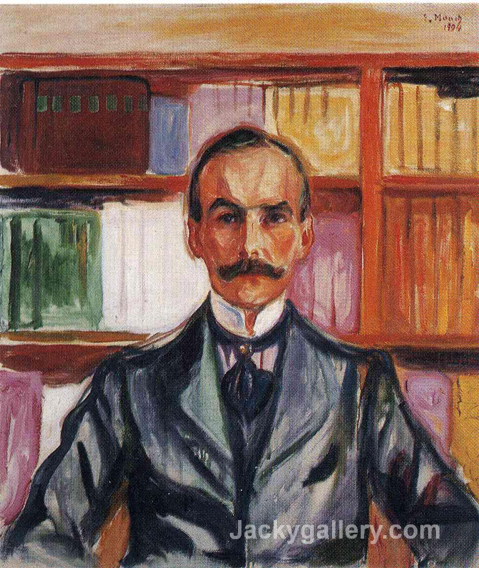 Harry Graf Kessler by Edvard Munch paintings reproduction