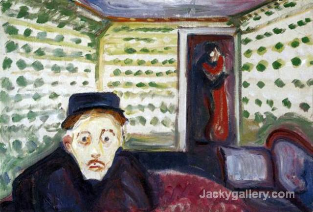 Jealousy II by Edvard Munch paintings reproduction