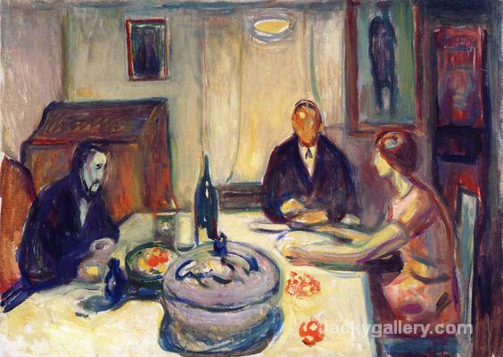 Oslo Bohemians ( - ) by Edvard Munch paintings reproduction