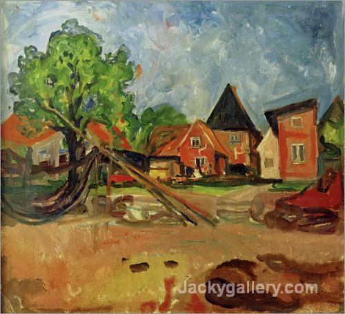 Travemunde by Edvard Munch paintings reproduction