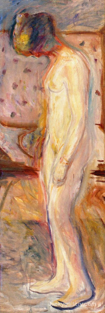 Weeping Woman by Edvard Munch paintings reproduction