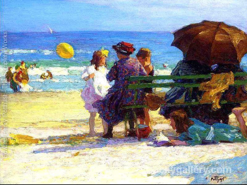 A Family Outing by Edward Henry Potthast paintings reproduction