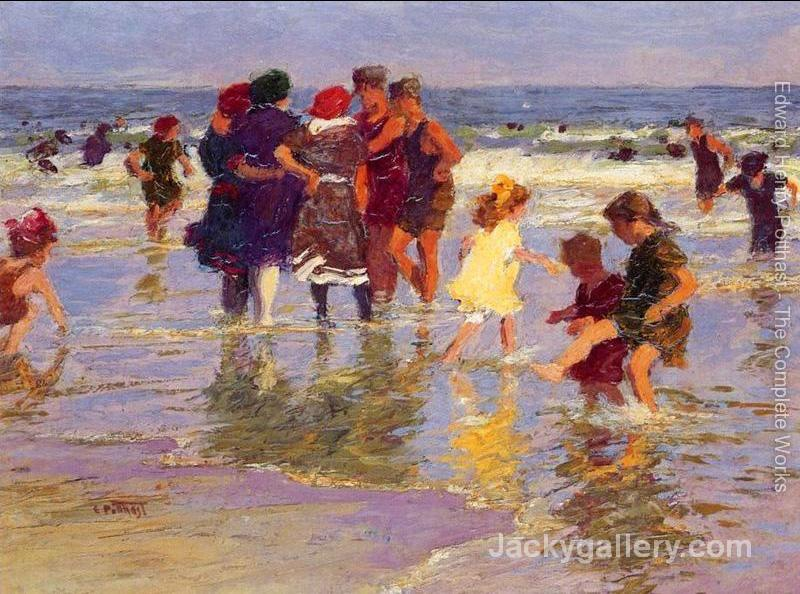 A July Day by Edward Henry Potthast paintings reproduction