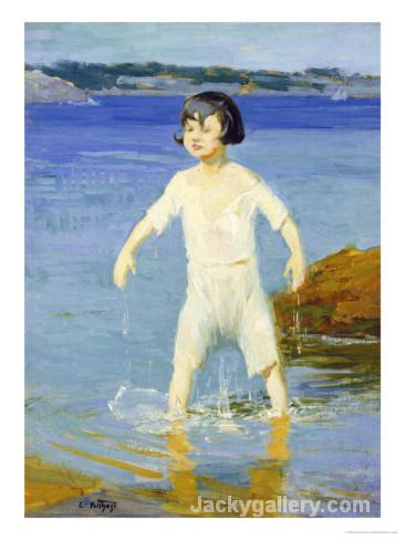 Kid Catastrophe by Edward Henry Potthast paintings reproduction
