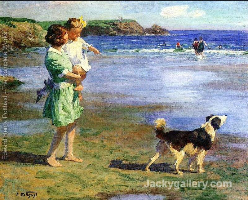 Summer Pleasures by Edward Henry Potthast paintings reproduction