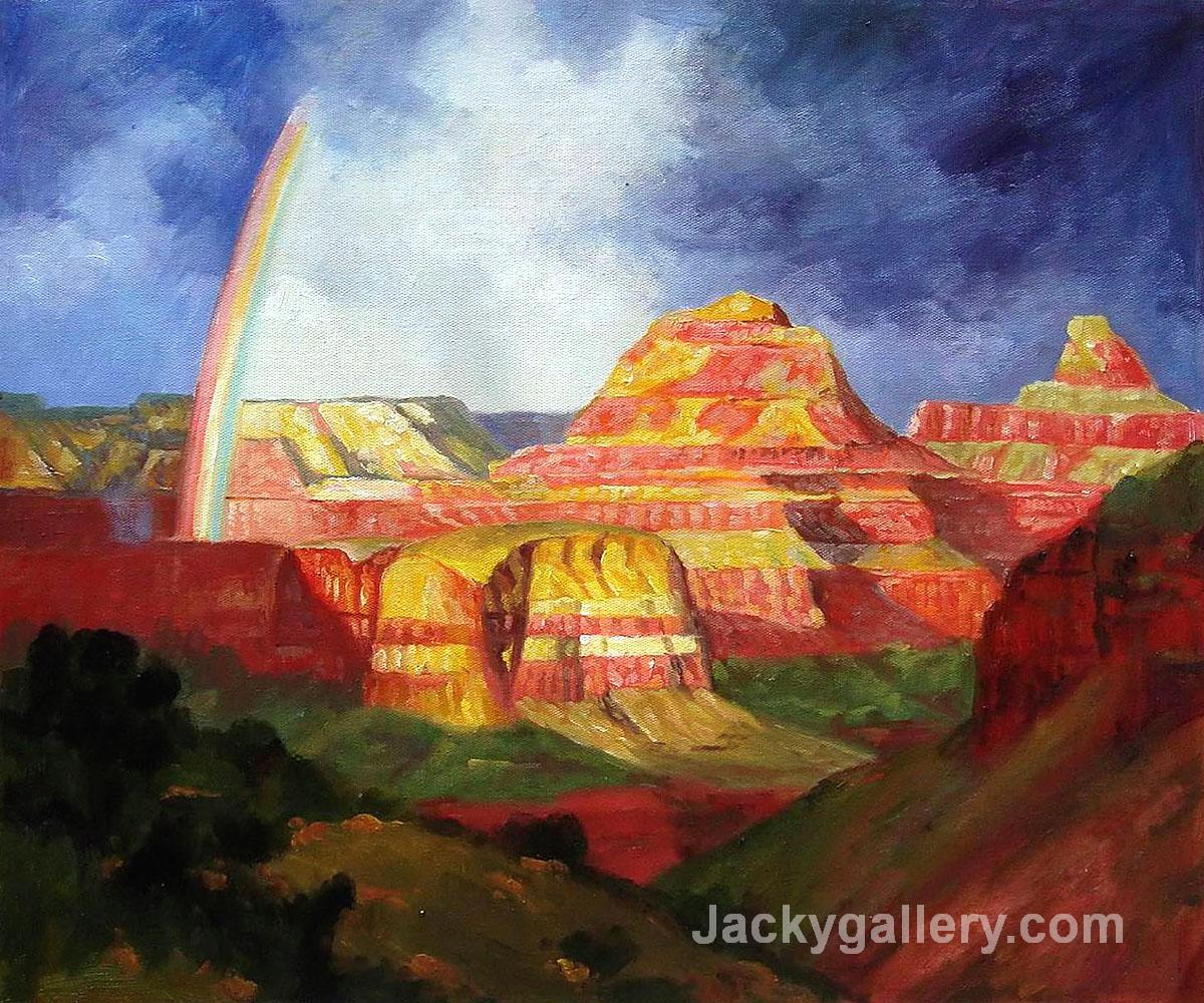 The Grand Canyon by Edward Henry Potthast paintings reproduction