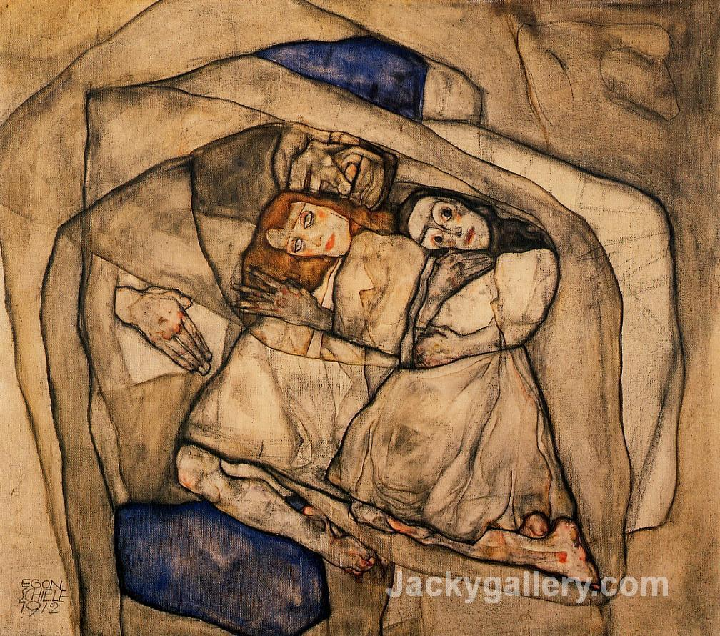 Conversion by Egon Schiele paintings reproduction