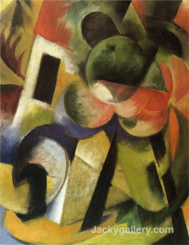Small Composition II by Franz Marc paintings reproduction