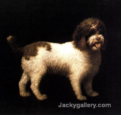A Water Spaniel by George Stubbs paintings reproduction