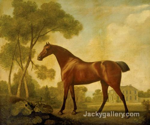 Ballerina, a Bay Mare Belonging to the Earl of Clarendon by George Stubbs paintings reproduction