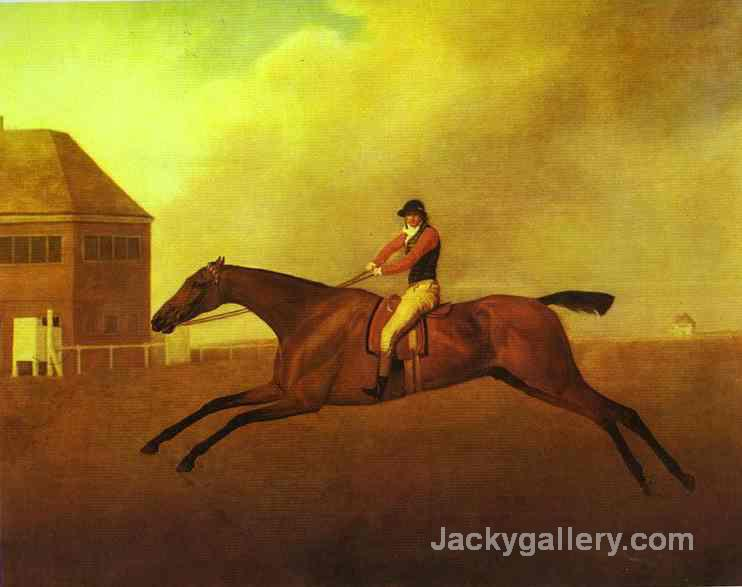 Baronet by George Stubbs paintings reproduction