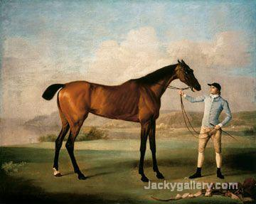 Molly Long Legs by George Stubbs paintings reproduction