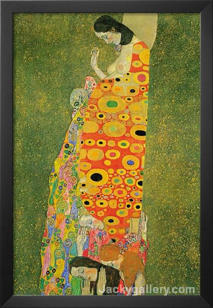 Abandoned Hope by Gustav Klimt paintings reproduction